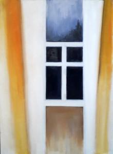Старинное окно2020хм60х45