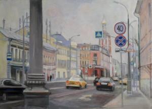 Малюсова. Графика Москвы-19 хм50х70